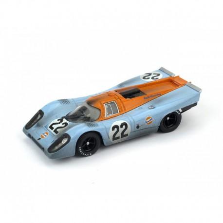 Porsche 917K with Driver Dirty Version 22 24 Heures du Mans 1970 Brumm R495R