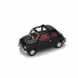 Fiat 500L Open 1968 Black Brumm R464-12