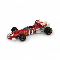 Ferrari 312B 6 F1 Grand Prix d'Italie 1970 Ignazio Giunti Brumm R313B-UPD-2020