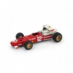 Ferrari 312 12 F1 Grand Prix du Mexique 1969 Pedro Rodriguez Brumm R256B