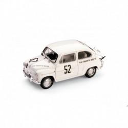 Fiat Abarth 850TC 52 1st class 500 Km du Nurburgring 1961 Ernest Furtmayr Brumm R305-UPD