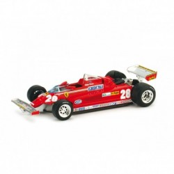Ferrari 126CK Turbo 28 F1 Grand Prix d'Italie 1981 Didier Pironi Brumm R391