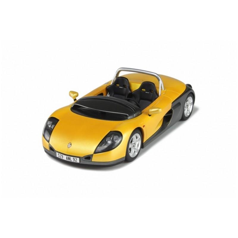 Renault Spider: Renault Sport Spider Jaune / Gris Métalisé 1996 Ottomobile