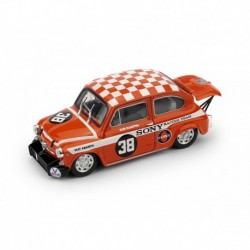 Fiat 600 Abarth 1000 Berlina 38 Zandwoort Trophy 1969 Winner Rob Dijkstra Brumm R419-UPD2