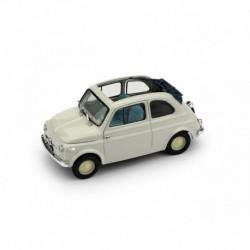 Fiat 500 Nuova Open 1957 Grey Brumm R340-01