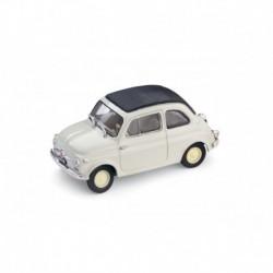 Fiat 500 Nuova Closed 1957 Light Grey Brumm R341-01