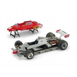 Ferrari 126C2 28 F1 Winner Grand Prix d'Imola 1982 Didier Pironi Brumm P013