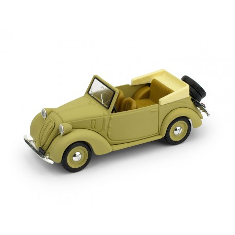 Fiat 508C 1100 Cabriolet Coloniale 1937 Sand Brumm R085-UPD