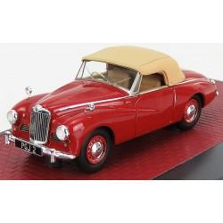 Sunbeam Alpine cabriolet closed 1953 Red Matrix MX41807-022