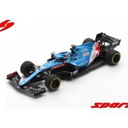 Alpine Renault A521 14 F1 Grand Prix de Bahrain 2021 Fernando Alonso Spark S7664