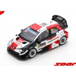 Toyota Yaris WRC 69 Rallye Monte Carlo 2021 Rovanpera - Halttunen Spark S6584