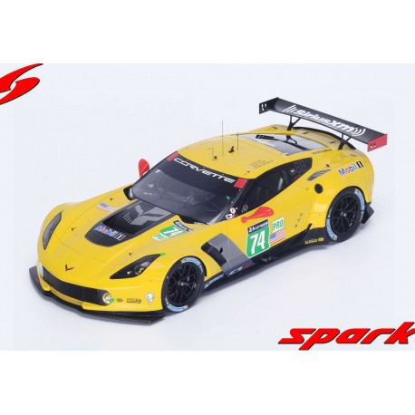Chevrolet Corvette C7R 74 24 Heures du Mans 2014 Spark 18S156