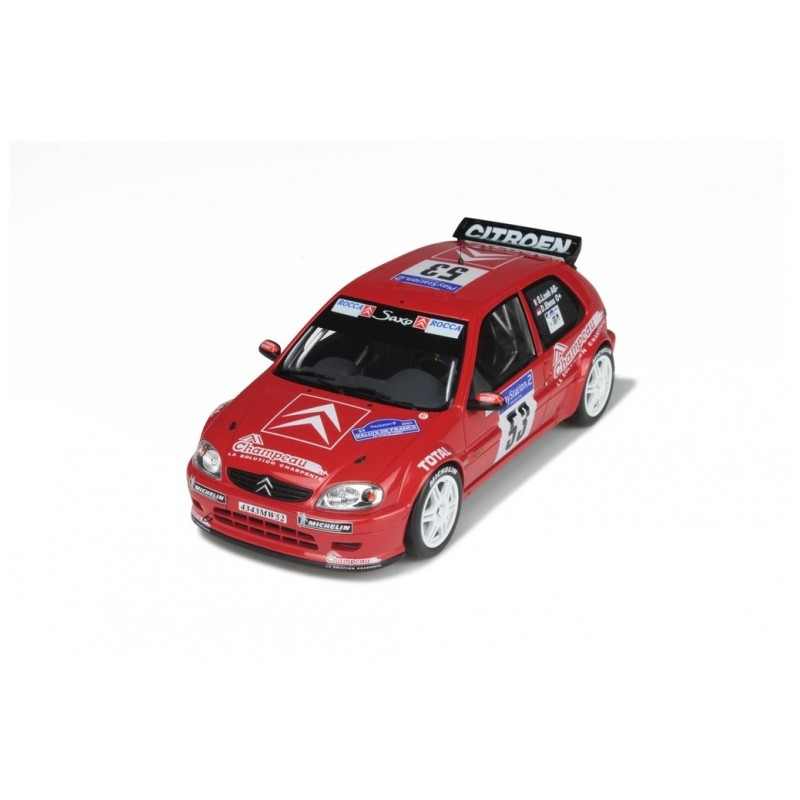 Citroen Saxo Kit Car Corse 1:43 Loeb//Elena 1999