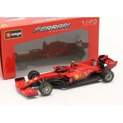 Ferrari SF1000 without showcase 16 F1 2020 Charles Leclerc Bburago BBU18-36823L