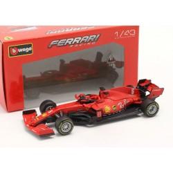 Ferrari SF1000 without showcase 5 F1 2020 Sebastian Vettel Bburago BBU18-36823V