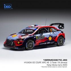 Hyundai I20 Coupe WRC 8 Rallye Monte Carlo 2020 Tanak - Jarveoja IXO 18RMC067C