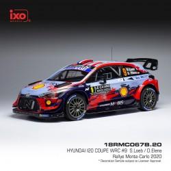 Hyundai I20 Coupe WRC 9 Rallye Monte Carlo 2020 Loeb - Elena IXO 18RMC067B