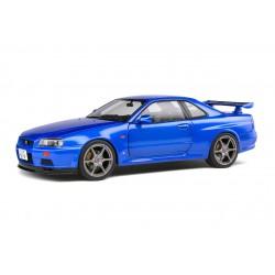 Nissan Skyline GTR R34 1999 Bayside Blue Metallic Solido S1804301