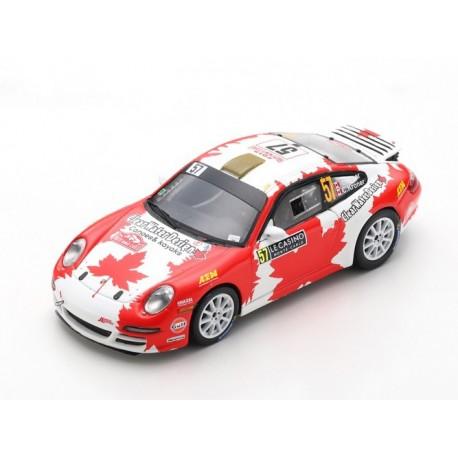 Porsche 997 Carrera RGT 57 Rallye Monte Carlo 2019 Crerar Kroner Spark S5989