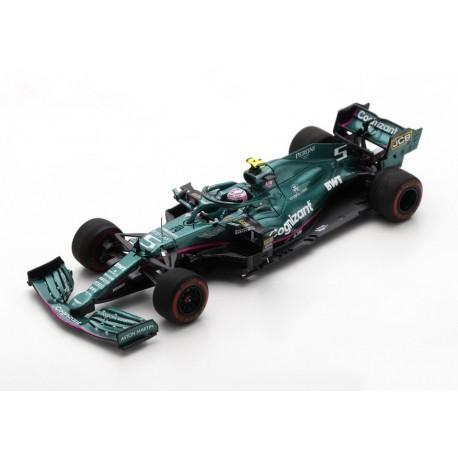 Aston Martin Mercedes AMR21 5 F1 Grand Prix de Bahrain 2021 Sebastian Vettel Spark S7672