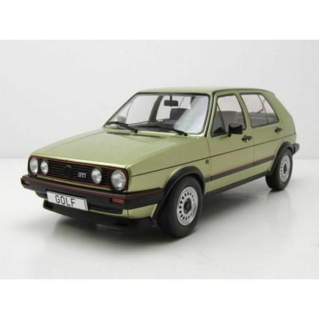 VW Golf II GTD 5 Portes 1984 Metallic Light Green MCG MCG18203