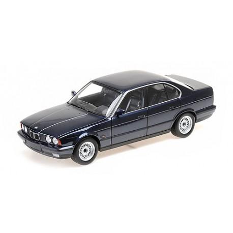 BMW 535I (E34) 1988 Blue Minichamps 100024004