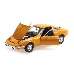 Opel GT 1970 Ocher Minichamps 180049031