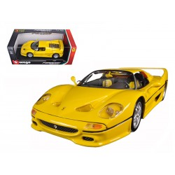 Ferrari F50 Jaune 1995 Bburago 16004YELLOW