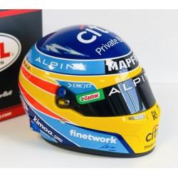 Casque Helmet 1/2 Fernando Alonso F1 2021 Bell 4100097
