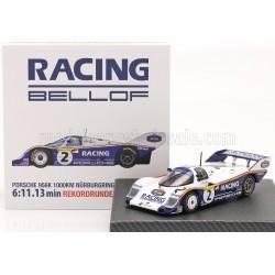 Porsche 956K 2 1000 Km du Nurburgring 1983 Bellof - Bell IXO W83430002