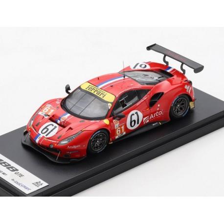 Ferrari 488 GTE Evo 61 24 Heures du Mans 2020 Looksmart LSLM113