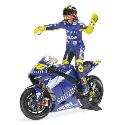 Yamaha YZR-M1 Moto GP Donington 2005 Valentino Rossi Minichamps 122053146