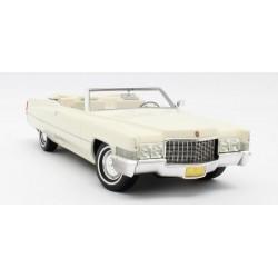 Cadillac De Ville Cabriolet open 1970 White Cult Models CML102-2