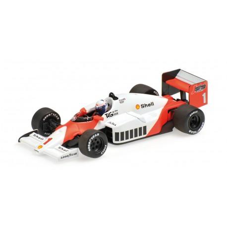 McLaren TAG MP4/2C WC 1986 Alain Prost Minichamps 436860001