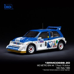 MG Metro 6R4 14 RAC Rally 1986 Llewellin - Short IXO 18RMC068B