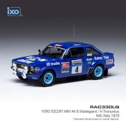Ford Escort MKII 4 RAC Rally 1979 Waldegaard - Thorlzelius IXO RAC330