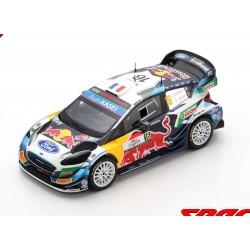Ford Fiesta WRC 16 Rallye de Croatie 2021 5ème Fourmaux - Jamoul Spark S6590