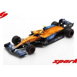 McLaren Mercedes MCL35M 4 F1 Grand Prix de Bahrain 2021 Lando Norris Spark S7671