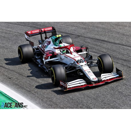 Alfa Romeo Ferrari C41 99 F1 Grand Prix d'Italie 2021 Antonio Giovinazzi Spark 18S603