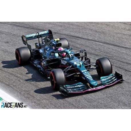 Aston Martin Mercedes AMR21 5 F1 Grand Prix d'Italie 2021 Sebastian Vettel Spark S7692