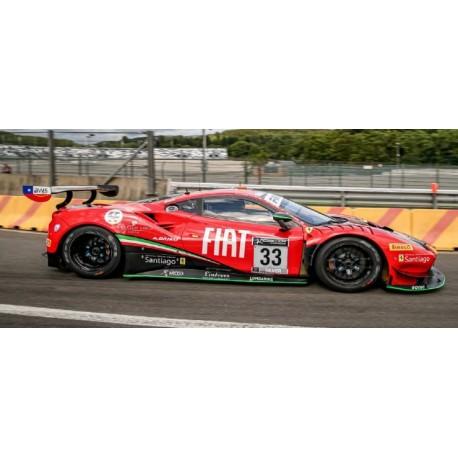 Ferrari 488 GT3 33 24 Heures de Spa Francorchamps 2021 Looksmart LSRC107