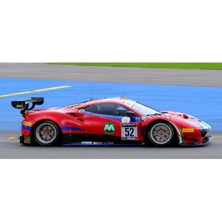 Ferrari 488 GT3 52 24 Heures de Spa Francorchamps 2021 2ème Pro-Am Class Looksmart LSRC105