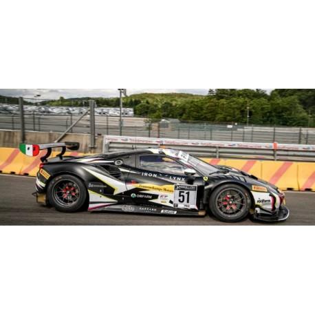 Ferrari 488 GT3 51 24 Heures de Spa Francorchamps 2021 Winner Looksmart LSRC103