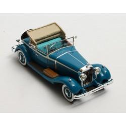 Isotta Fraschini 8A SS Castagna Cabriolet open 1930 Blue Beige Matrix MX40907-011
