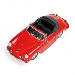 Porsche 356B Cabriolet Rouge 1960 Minichamps 400064331