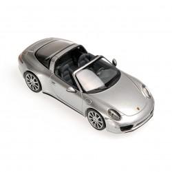 Porsche 911 Targa Argentée 2013 Minichamps 410062442