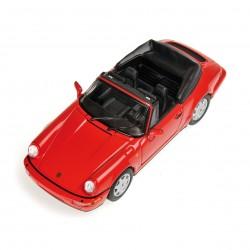 Porsche 911 Carrera 2 Cabriolet Rouge 1990 Minichamps 430067330