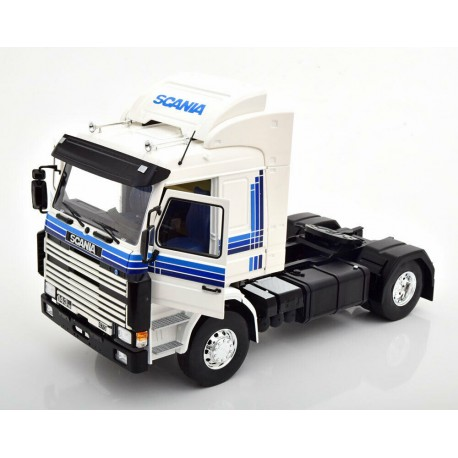 Scania 143 Topline 1987 White MCG MCG18143