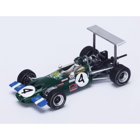Lotus 59 F2 Pau 1969 Winner Jochen Rindt Spark S4276