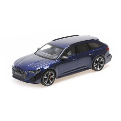 Audi RS6 Avant 2019 Blue Metallic Minichamps 155018011